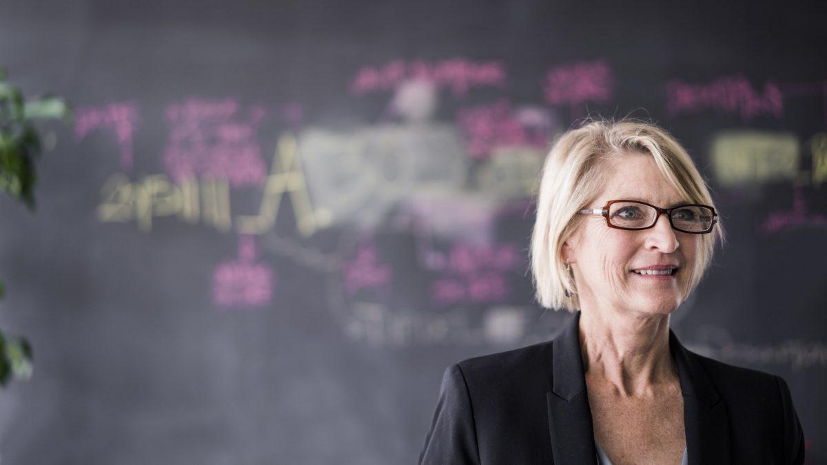 Female Psychology professor.